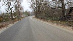 В тульской деревне отремонтировали дорогу