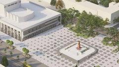 В Симферополе началась реконструкция площади имени Ленина за 110 миллионов рублей