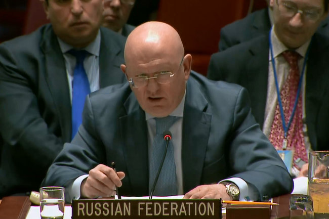 Небензя назвал основным  приоритетом предотвращение войны из-за Сирии