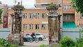 уникальные ворота на улице Дзержинского постройки XVIII в Тула