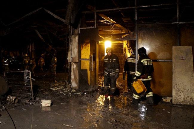 Кемерово пожар ТЦ Зимняя вишня МЧС