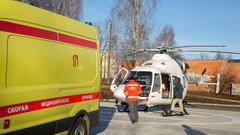 В Чебоксарах построена первая вертолетная площадка для санавиации