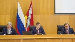 Губернатор Воронежской области отчитался перед депутатами регионального парламента