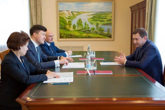 Председатель Воронежской областной думы встретился с членами Совета директоров Банка России