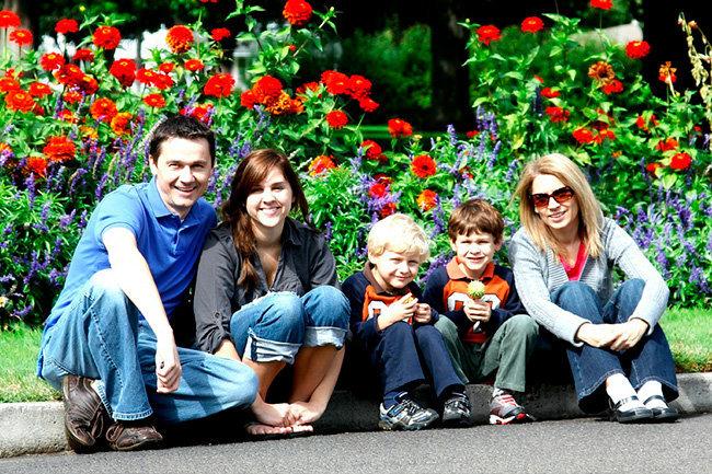 многодетная семья дети