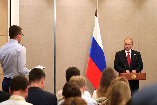 Пресс-конференция Владимира Путина по итогам БРИКС