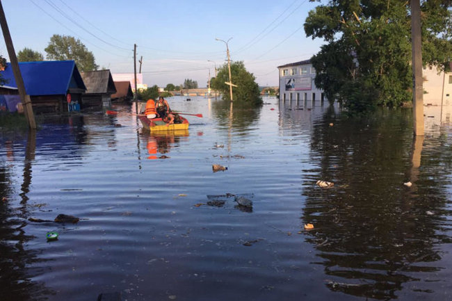 Тулун МЧС наводнение