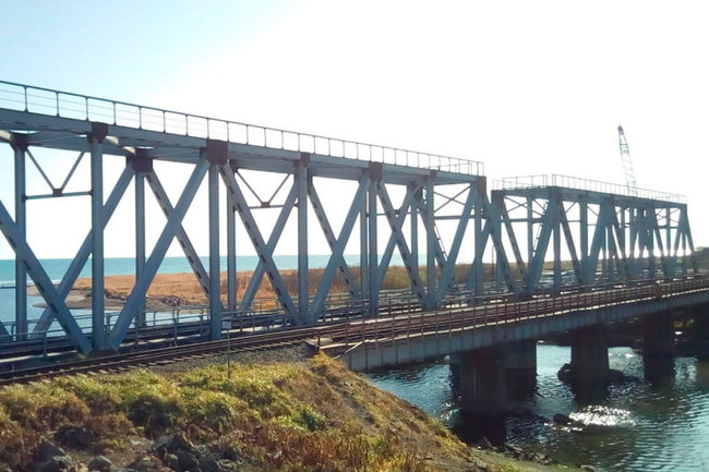 Мост, построенный на Сахалине ГК СК Мост Руслана Байсарова