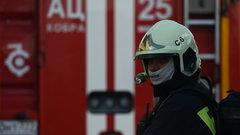 В Химках локализовали крупный пожар
