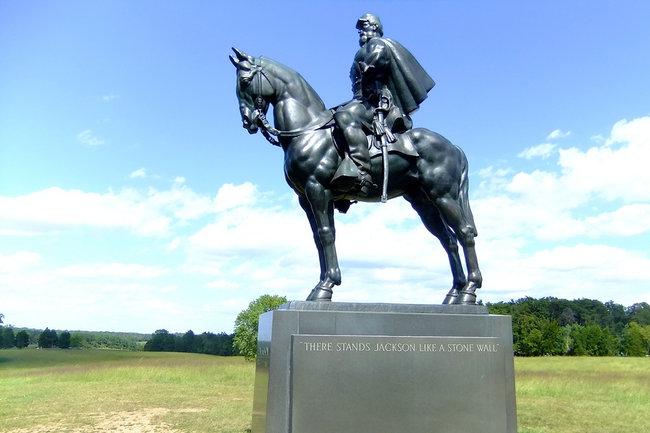 Памятник Томасу Джонатану Джексону