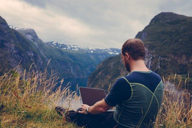 компьютер природа путешествия