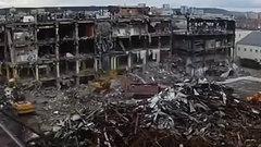 В Кемерове снесли «Зимнюю вишню» (ВИДЕО)