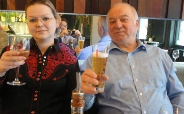 Юлия и Сергей Скрипаль