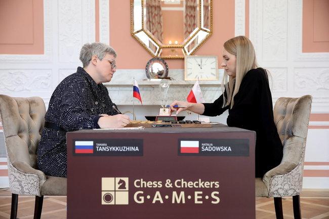 Тамара Тансыккужина и Наталия Садовска