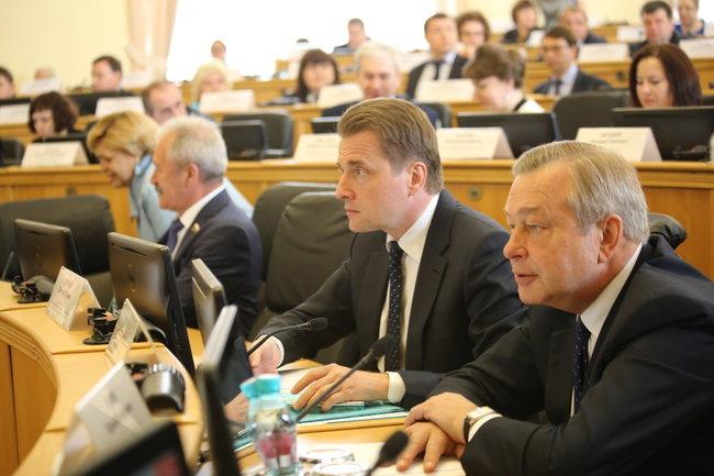 Заседание Тюменской областной думы
