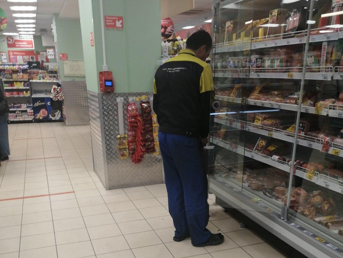 супермаркет Пятерочка без маски