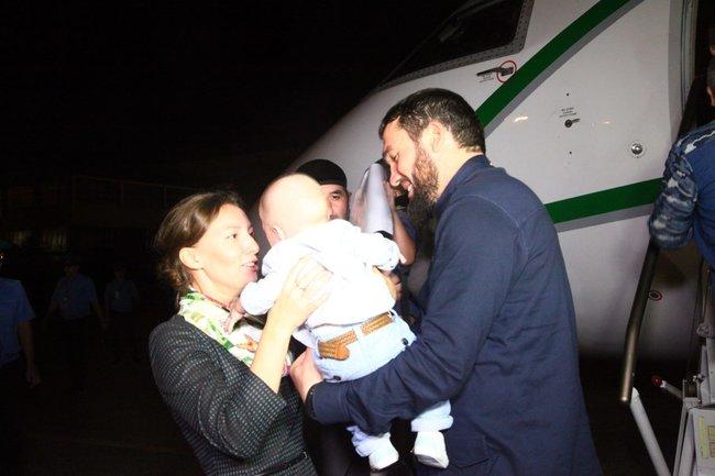 Анна Кузнецова и дети