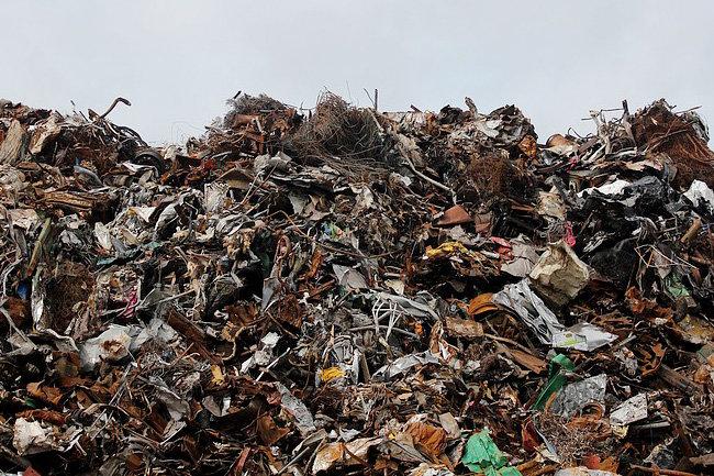 Активисты непускают мусоровозы наполигон под Дмитровом