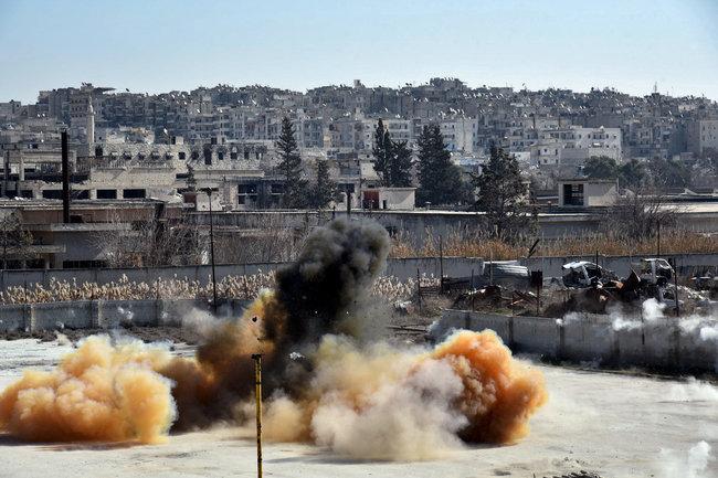 ВОЗ: Жертвами химатаки вСирии стали полтысячи человек