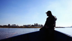 Житель Калининграда поймал в День всех Влюбленных гигантского сома