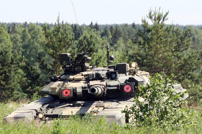 Штора-1 т-90