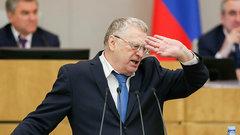 Одомогательствах состороны Жириновского сообщил журналист-мужчина