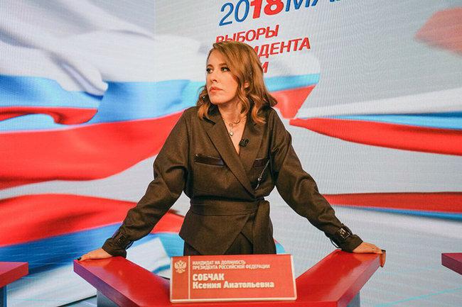 Собчак отдала голос напрезидентских выборах