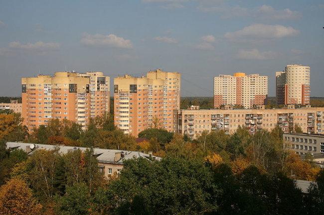 Микрорайон Серебрянка, Пушкино