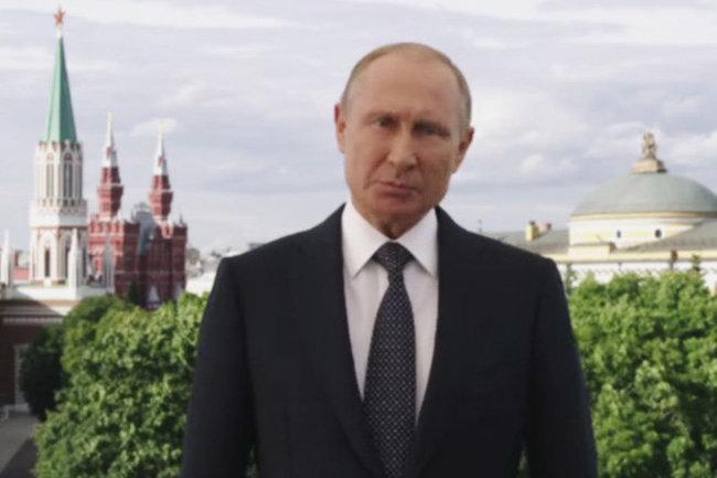 Владимир Путин ФИФА ЧМ-2018