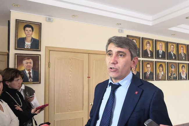 Глава администрации Тулы Дмитрий Миляев.