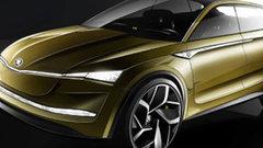 Skoda показала внешность своего нового автомобиля