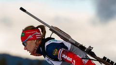 Российская биатлонистка Глазырина отстранена от работы со сборной