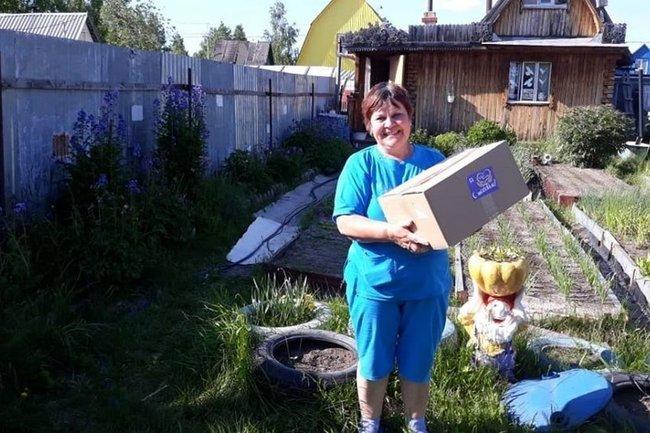 Акция «Посылки добра» в Сургутском районе