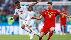 Бельгия обыграла сборную Панамы на ЧМ-2018