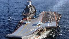 Моряки начали растаскивать авианосец «Адмирал Кузнецов»