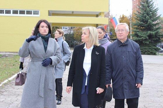 Глава Тулы Ольга Слюсарева приняла участие в приемке работ по «Народному бюджету-2019»