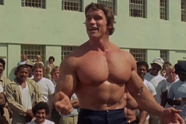 «Качая железо» 1977