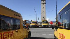 В Ингушетии сельские школы получили 18 новых автобусов