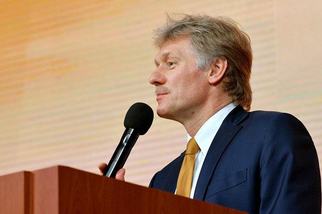 Песков: Российская Федерация присутствует наДонбассе «ввиде симпатий» кукраинскому народу