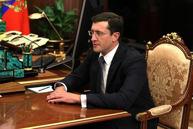 Врио губернатора Нижегородской области Глеб Никитин