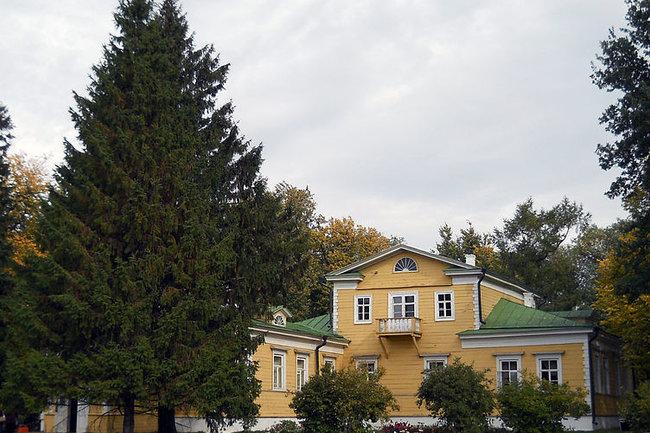 Барский дом болдинской усадьбы Пушкиных