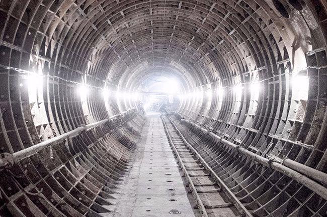 Снегопад в Москве помешал строить метро