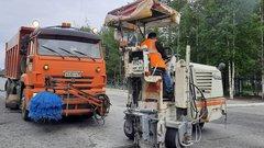 На трассе Тюмень— Ханты-Мансийск на 11 участках продолжаются ремонтные работы
