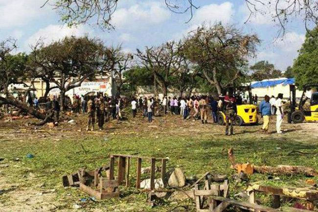 В столице Сомали смертник подорвал полицейскую академию
