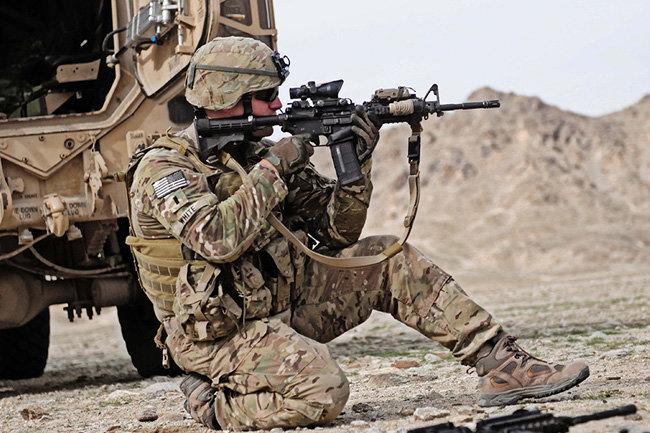 США армия Сирия