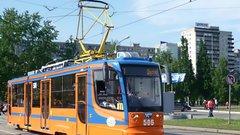 В уральской столице тестируют инновационный электробус, презентованный на ИННОПРОМе