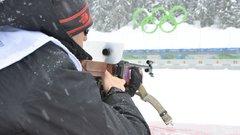 Российский биатлонист Логинов выиграл пасьют на Кубке IBU