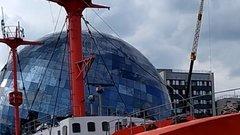 В Калининграде отреставрируют последний плавучий маяк в России