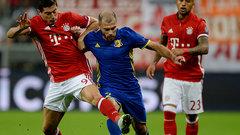 «Ростов» всухую проиграл «Баварии» в матче группового этапа Лиги чемпионов