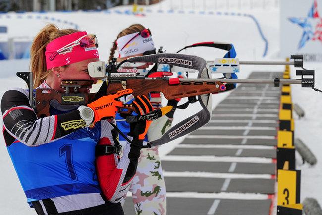 Екатерина Юрлова-Перхт— чемпионка Российской Федерации побиатлону впасьюте